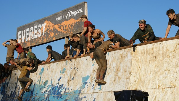 Tough Mudder in der Eifel