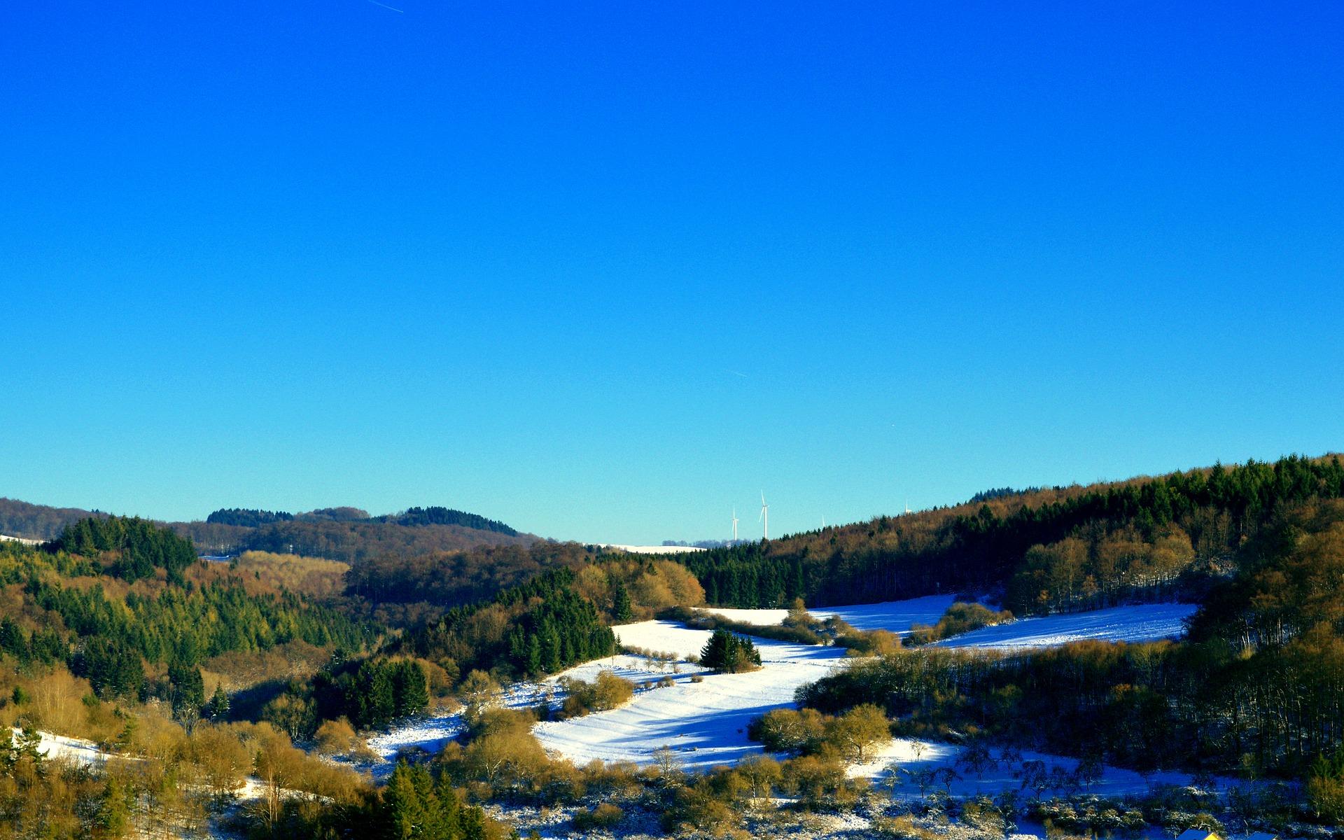 Skifahren und Rodeln in der Eifel