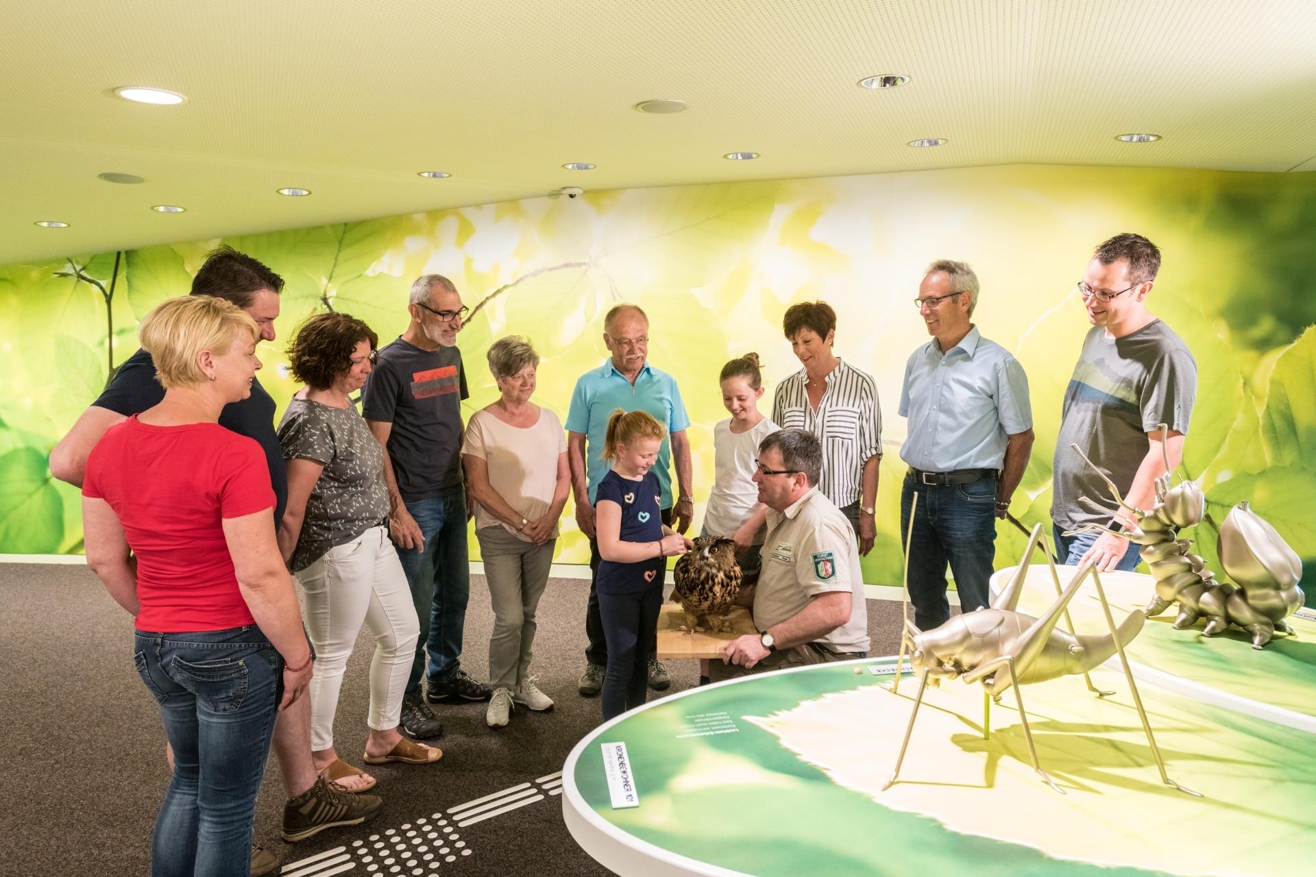 """Ein Extra für Kurzstreckenwanderer: Besuch der Ausstellung """"Wildnis(t)räume"""" plus Wanderung"""