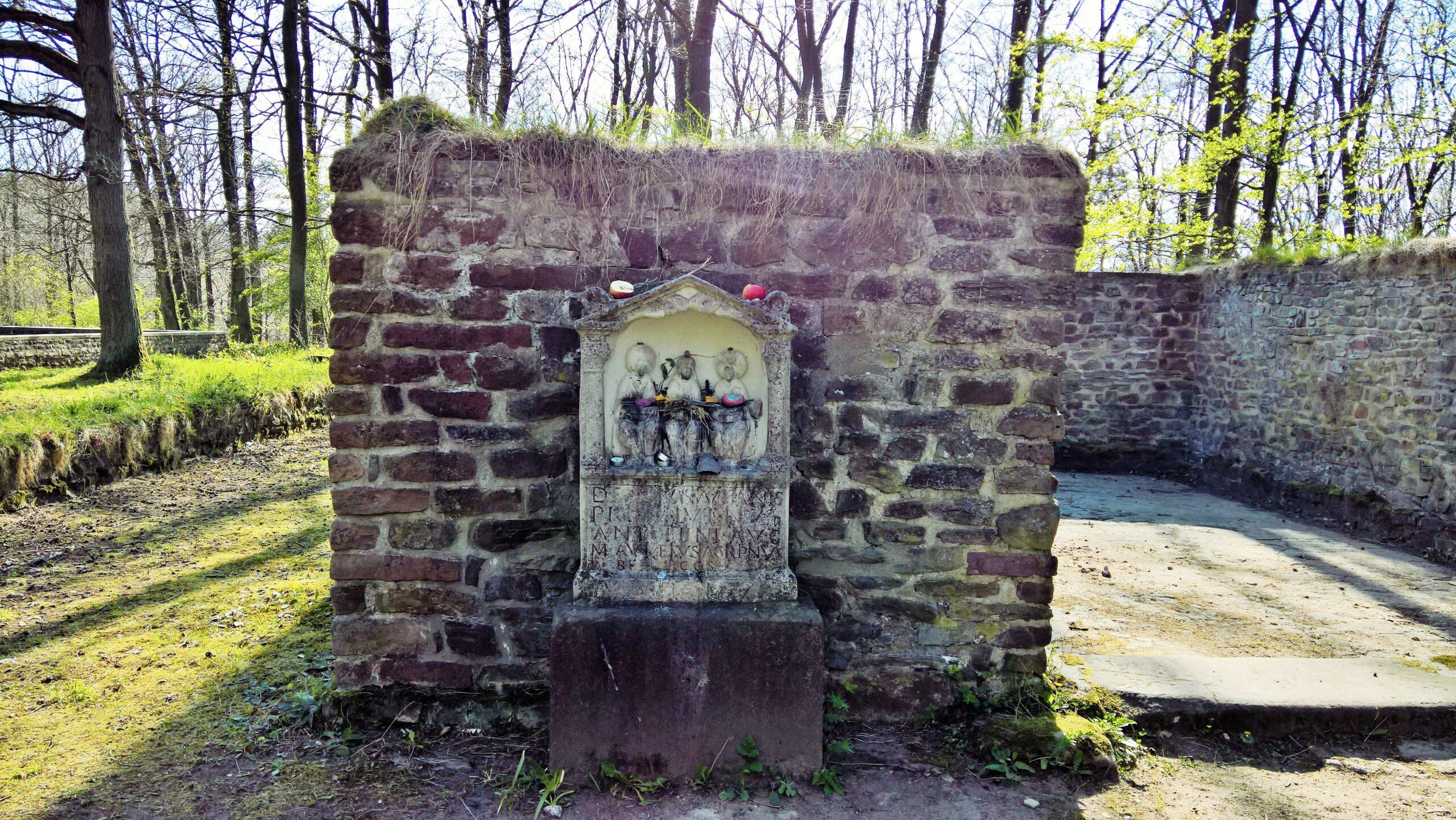 Der römische Tempelbezirk in Bad Münstereifel
